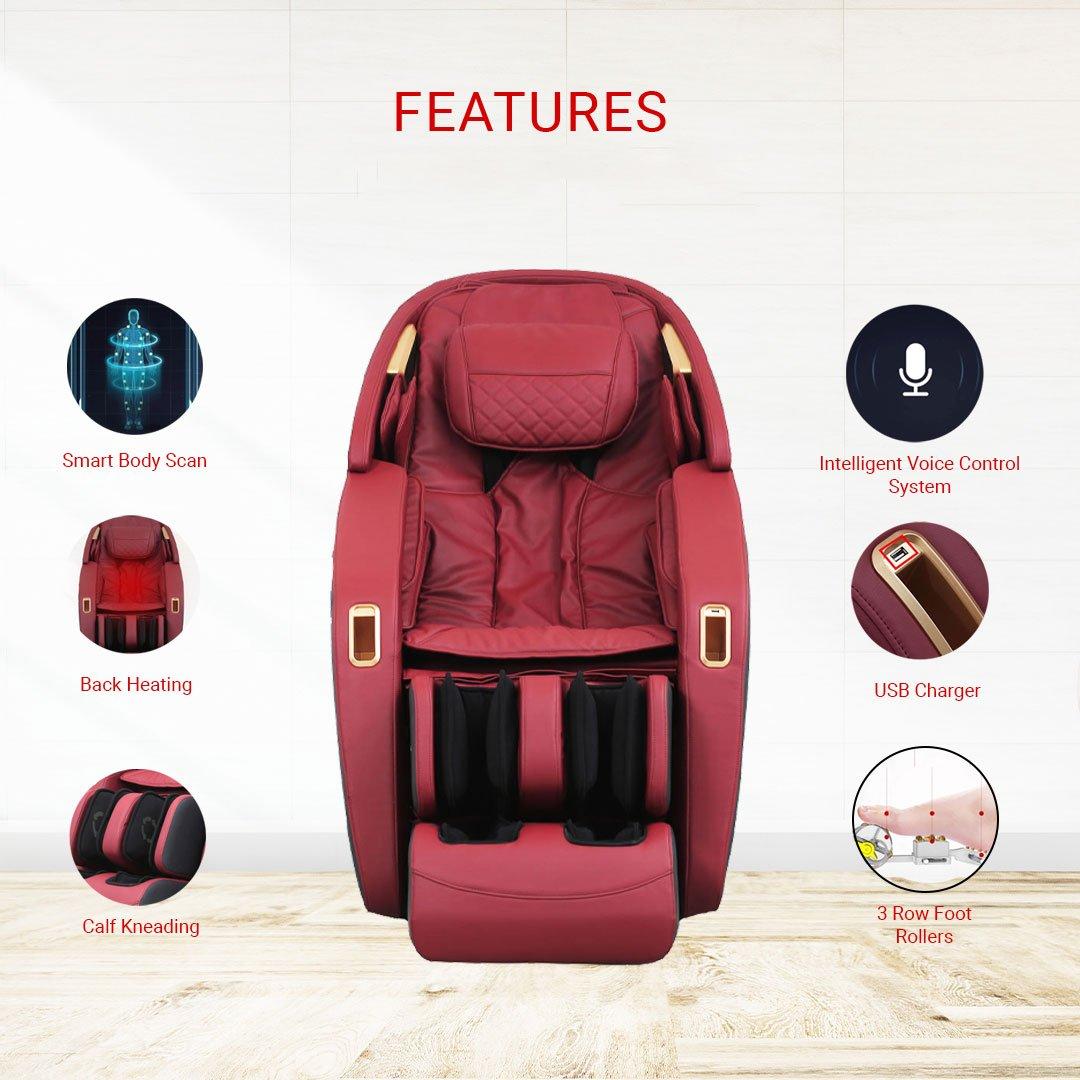 iRobo iEmbrace Massage Chair Features