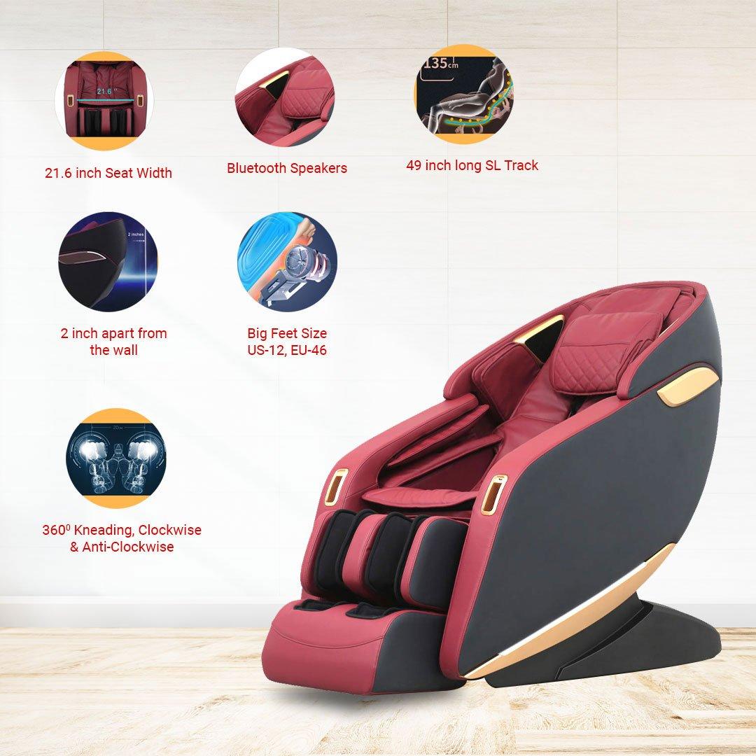 iRobo iEmbrace Massage Chair Functions