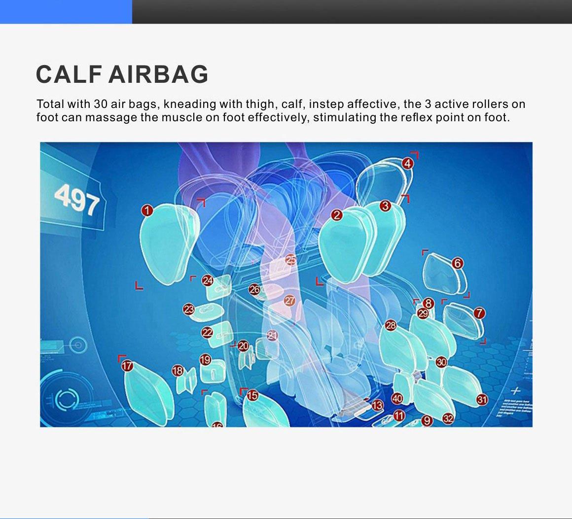 Calf Airbag for iRobo C30 Leg & Foot Massager
