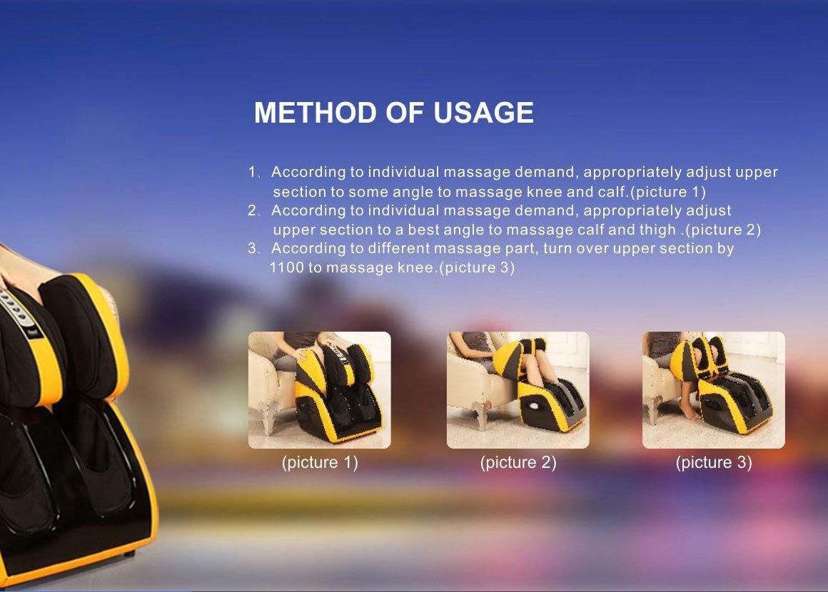 Leg Massage Machine Usage Manual